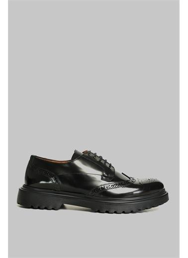 Lufian Luminosa Deri Casual Ayakkabı Kahverengi Siyah